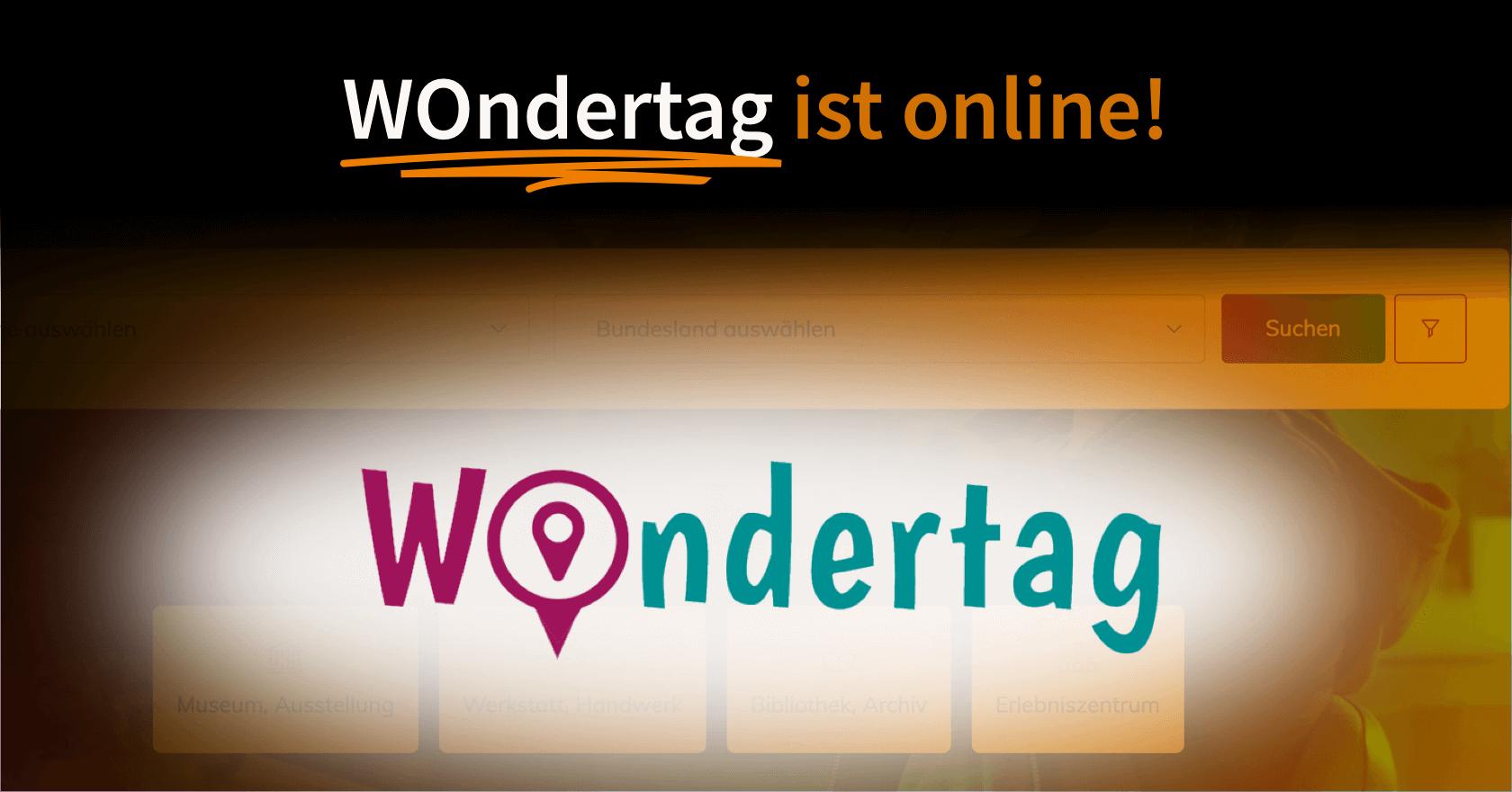 WOndertag ist online! | Sie wollen eine App, Software oder Webanwendung, die auf dem Markt wettbewerbsfähig ist? Wir helfen Ihnen dabei: UX Consulting, UX Konzept & UI Design | App, Software & Web | UX-Büro in Odenthal (in der Nähe von Köln, Bergisch Gladbach, Leverkusen und Düsseldorf) | User Experience Consulting, User Experience Konzept & User Interface Design